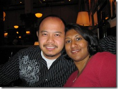 alice & vinh at maggiano's